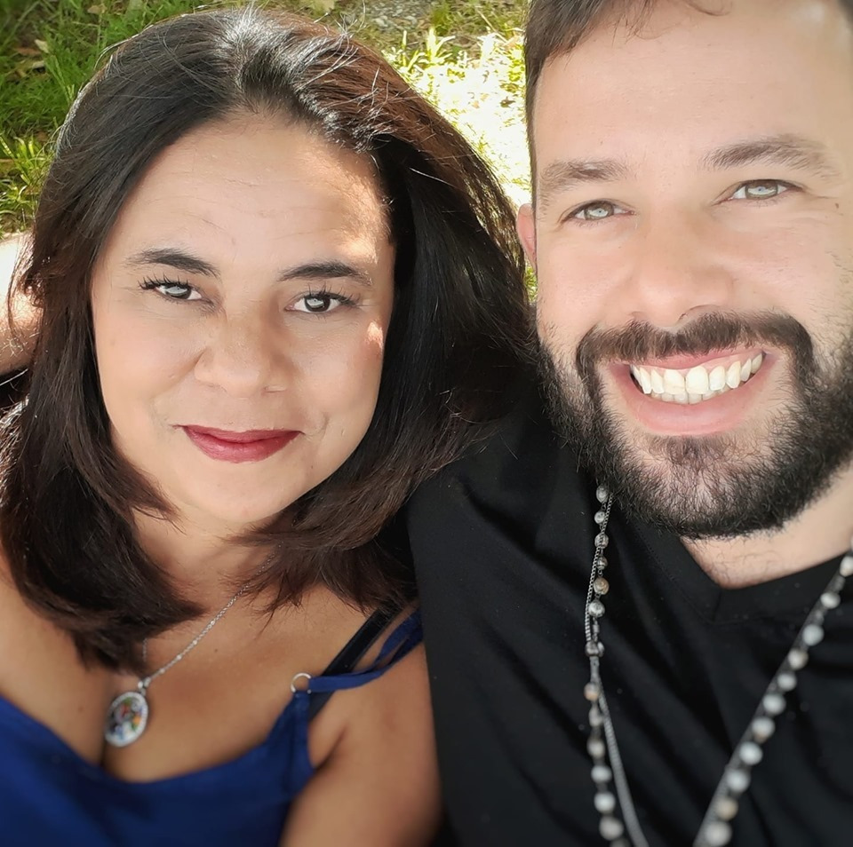 Aline Lelles e Rodrigo Wittitz