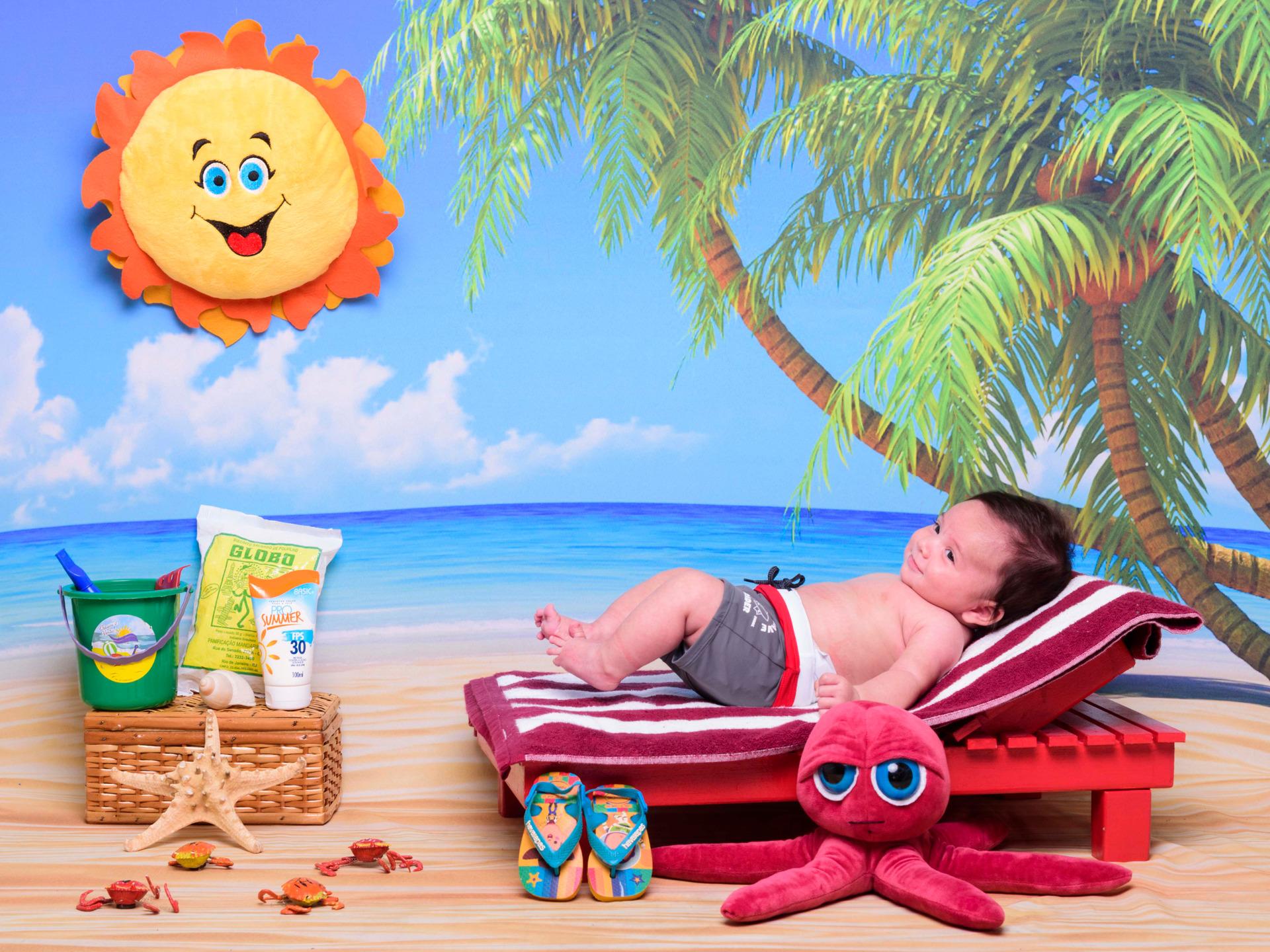 foto de bebê, ensaio infantil, fotografia infantil, sessão praia, biscoito globo, bebê na praia, inspiração ensaio bebês, foto de verão, ferias de verão, bebês fofos, bebês sorridentes