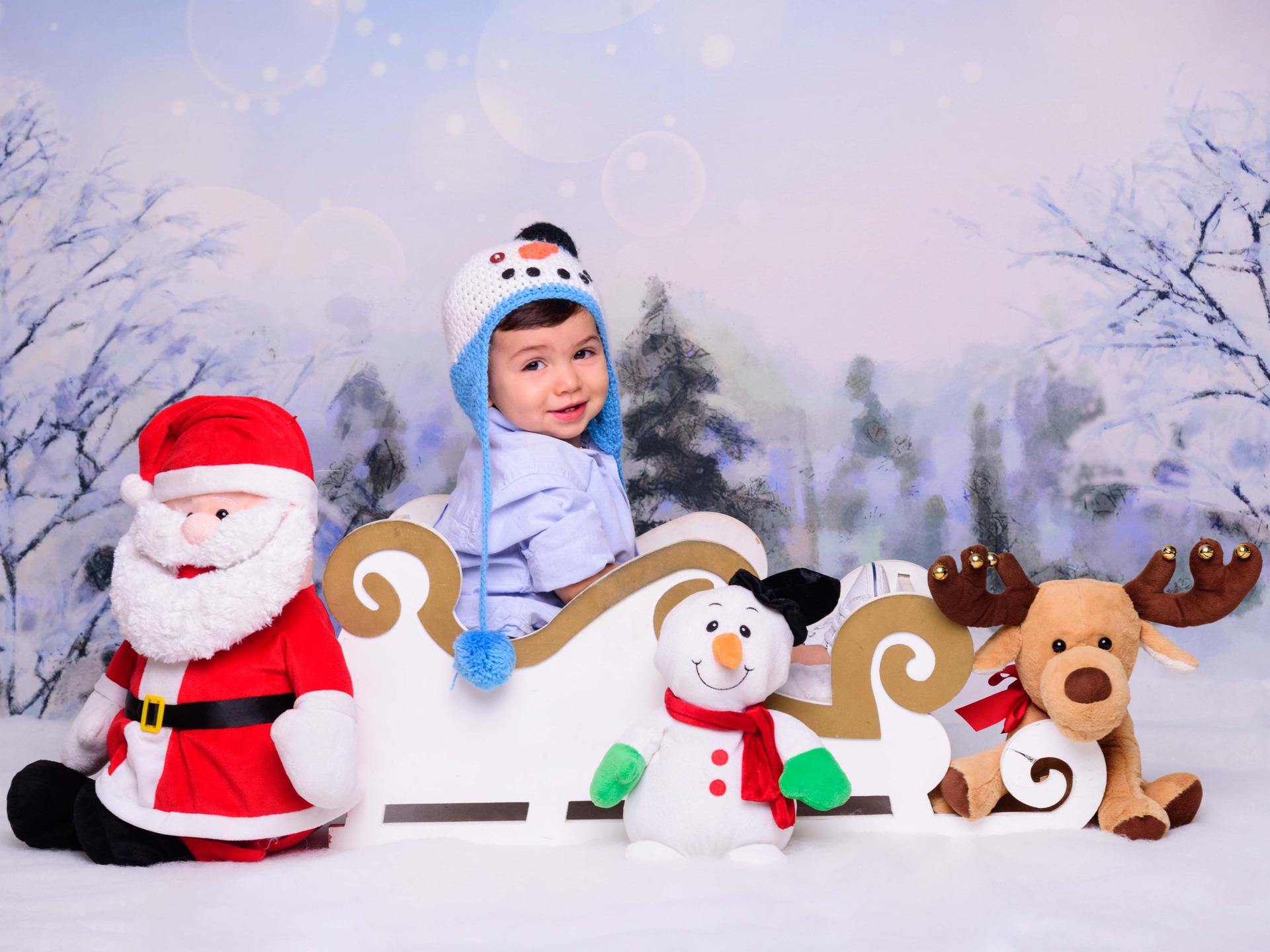 natal, papai noel, boneco de neve, trenó, sessão de fotos natal, ensaio natalino para bebê, foto com o papai noel, noite de natal, neve, fotos em família, presente de natal, meu primeiro natal