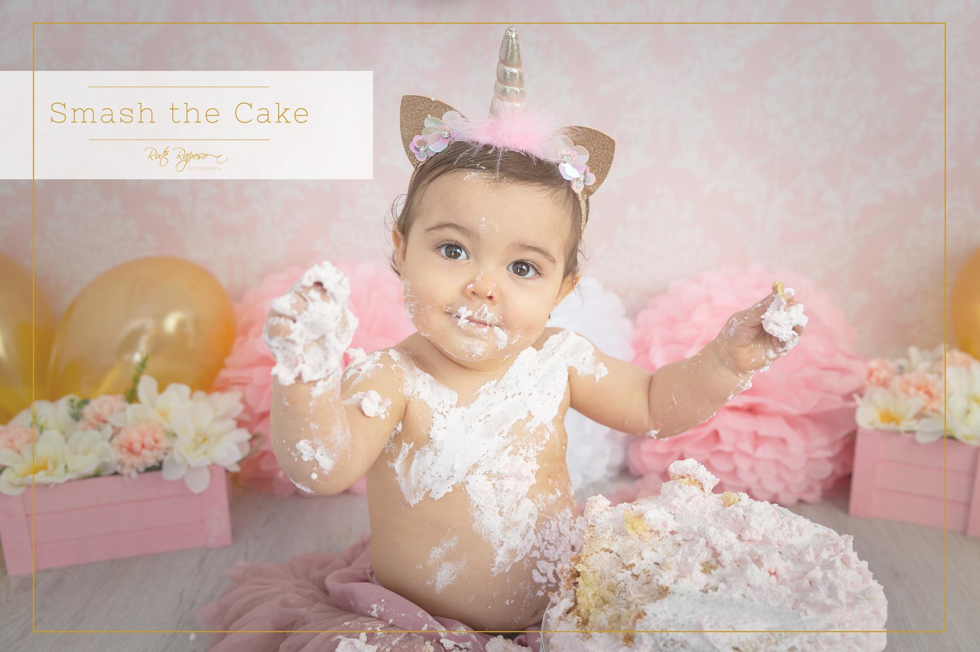 Smash the Cake - 1 ano