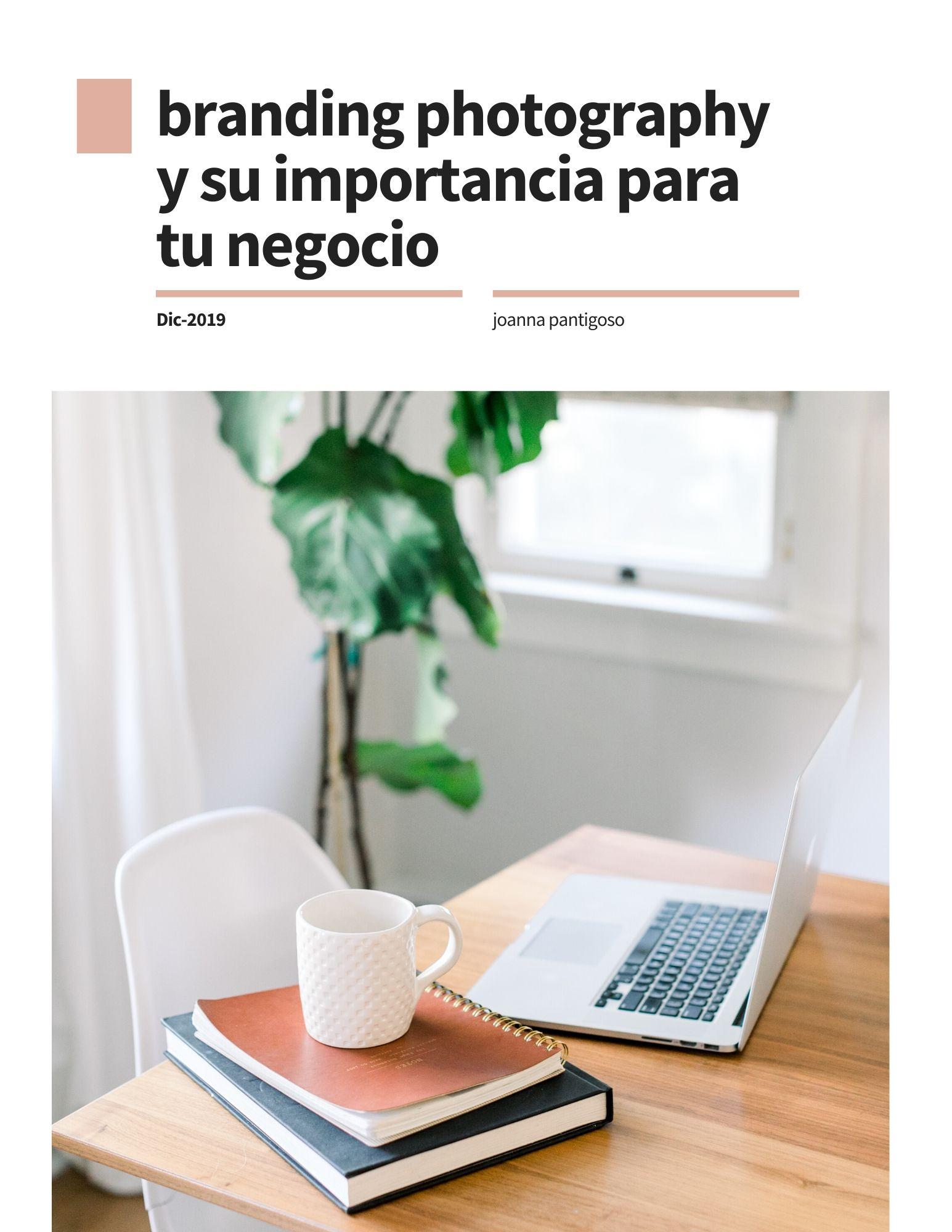 E-book Branding photography y su importancia para tu negocio