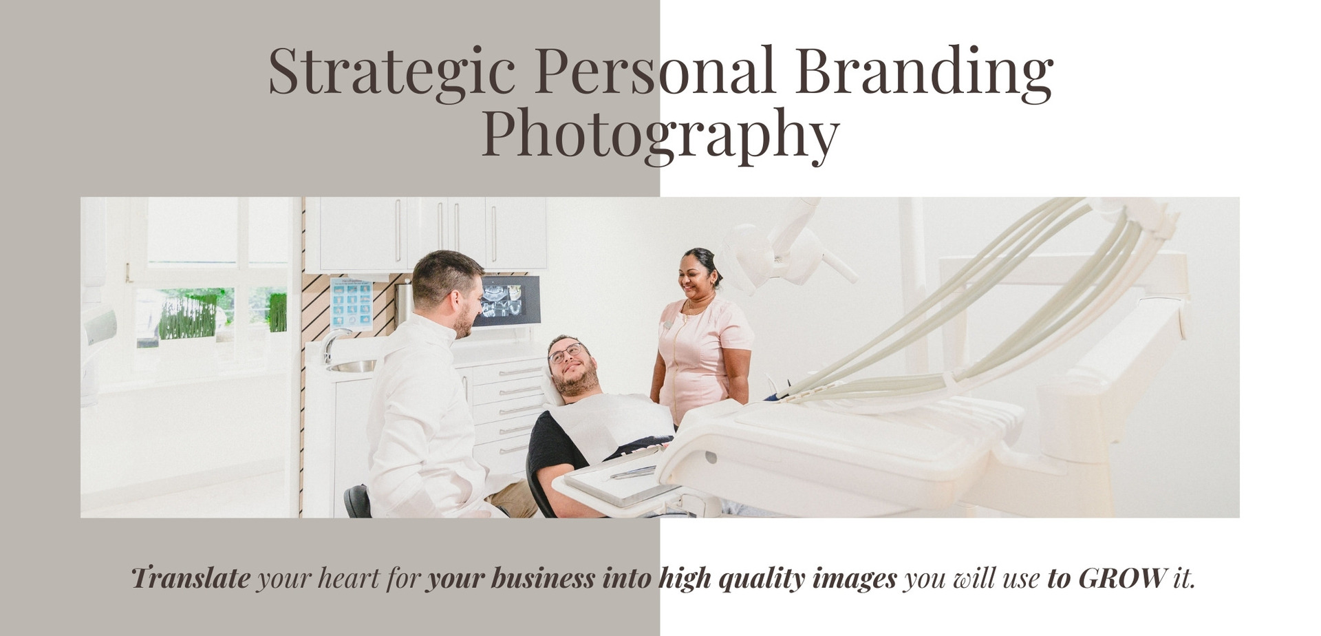 Strategic Personal Branding Photography in Amsterdam. Translate your heart for your business into high quality images you will use to grow it.