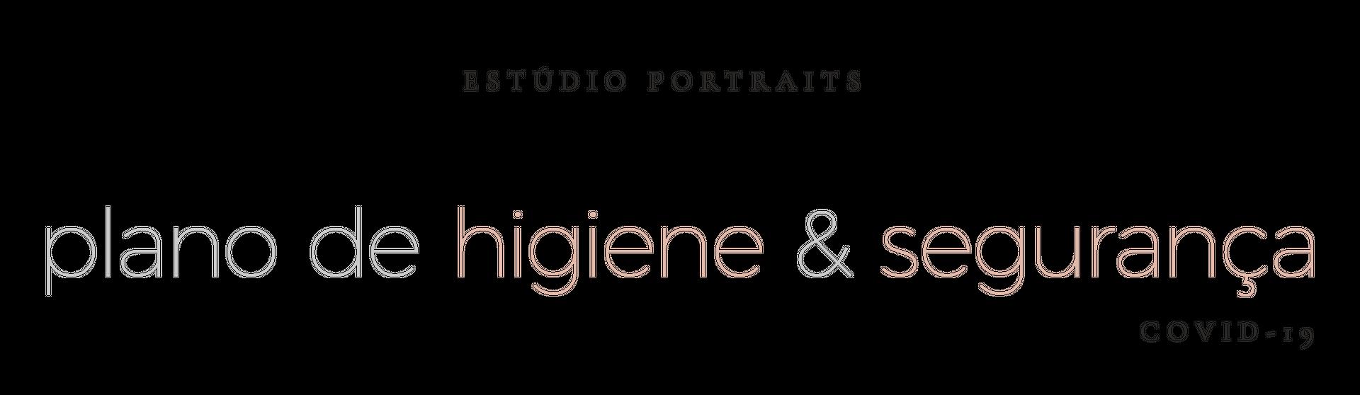 portraits higiene e seguranca covid