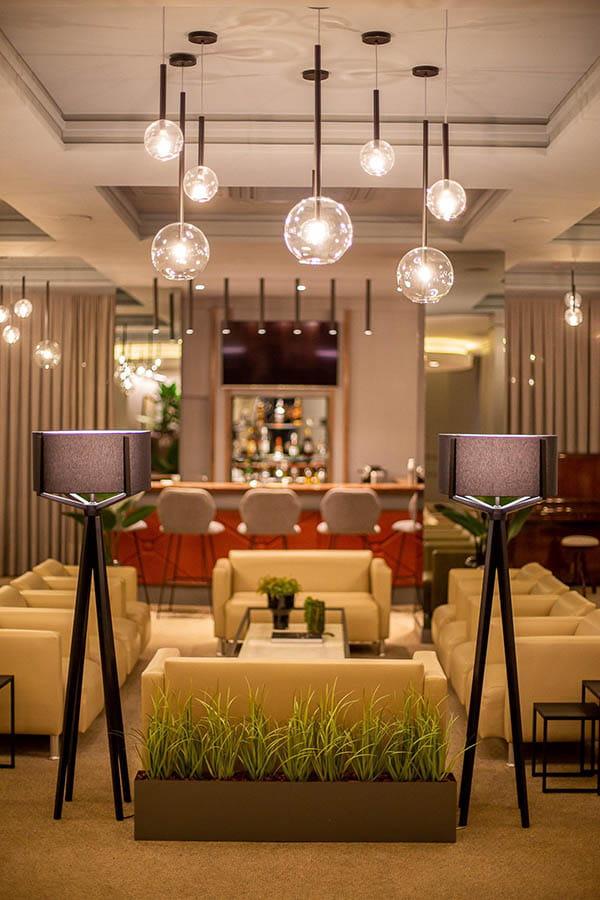 Arquitetura, decoração, ambiente interno