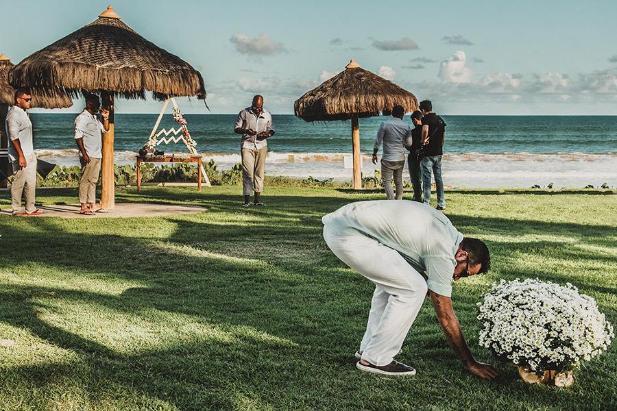 burocracias e permissões de casamento na praia