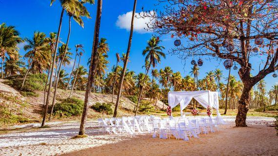 local para realização de casamento no Grand Palladium Imbassaí Resort & SPA