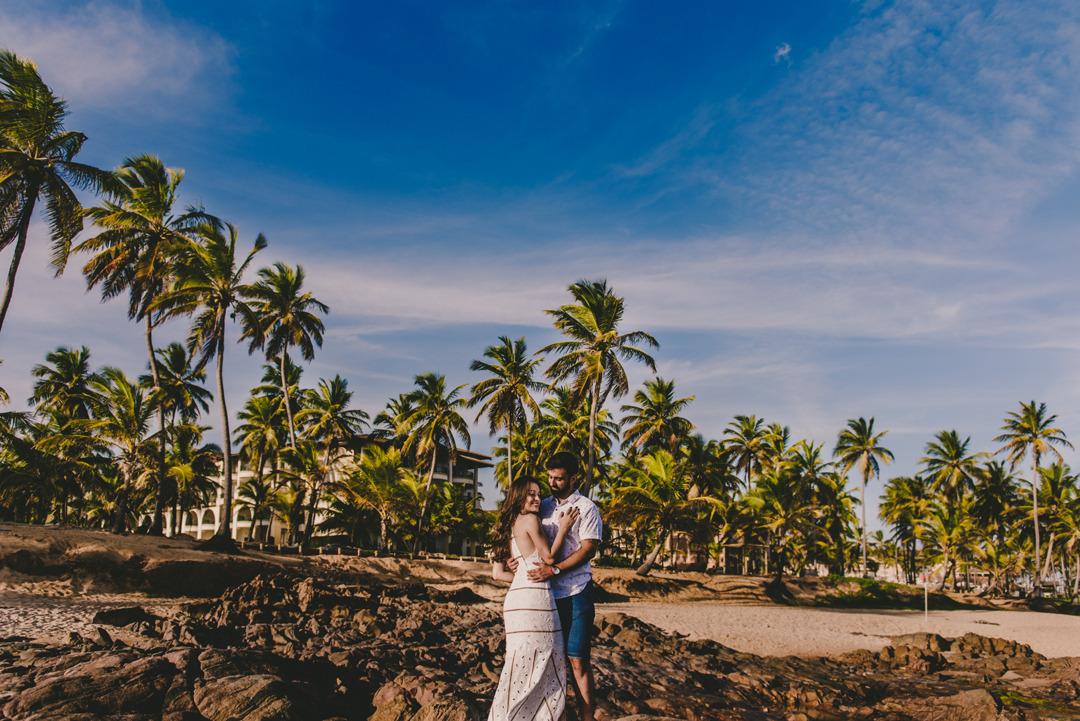 Ensaio de pré casamento na Bahia