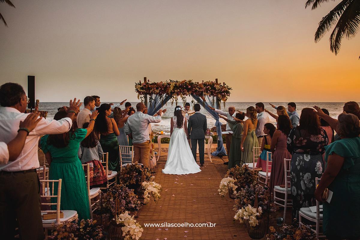 casar na Bahia, casamento na Bahia na praia e no pôr do sol