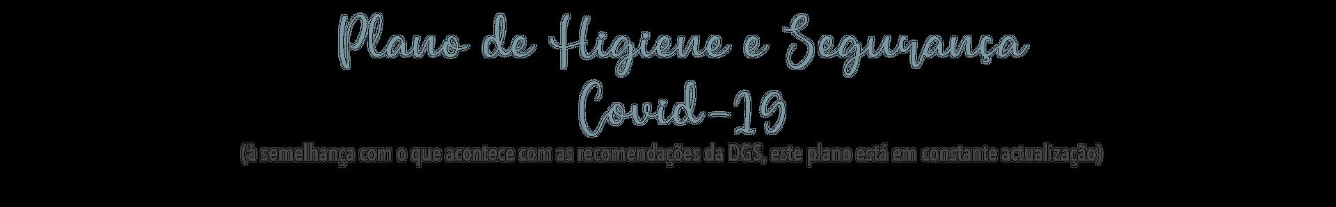 Plano de Higiene e segurança Covid 19 estúdio fotográfico