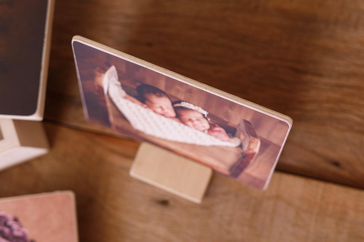 Porta Retrato em Madeira 13x18cm