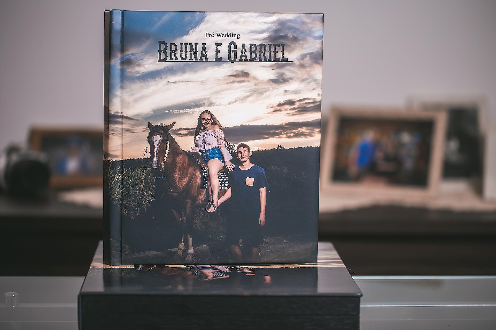 Album de casamento fotografia