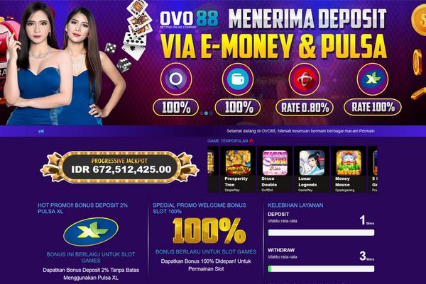 Inilah Keuntungan Bermain Judi Slot Deposit Pulsa Dan Ovo