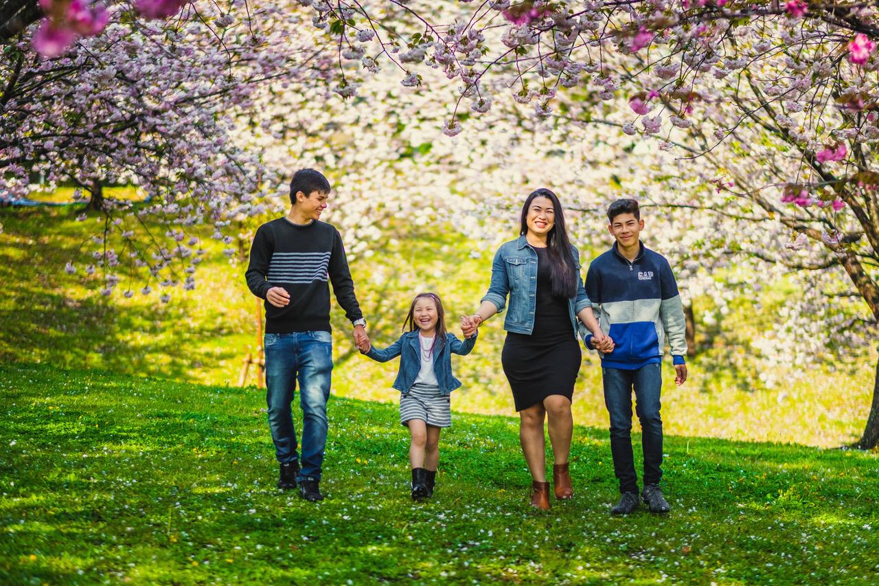 ensaio familiar no japao, ensaio fotografico no japao, ensaio nos sakuras, fotografo de familia no japao, ensaio diferente no japao