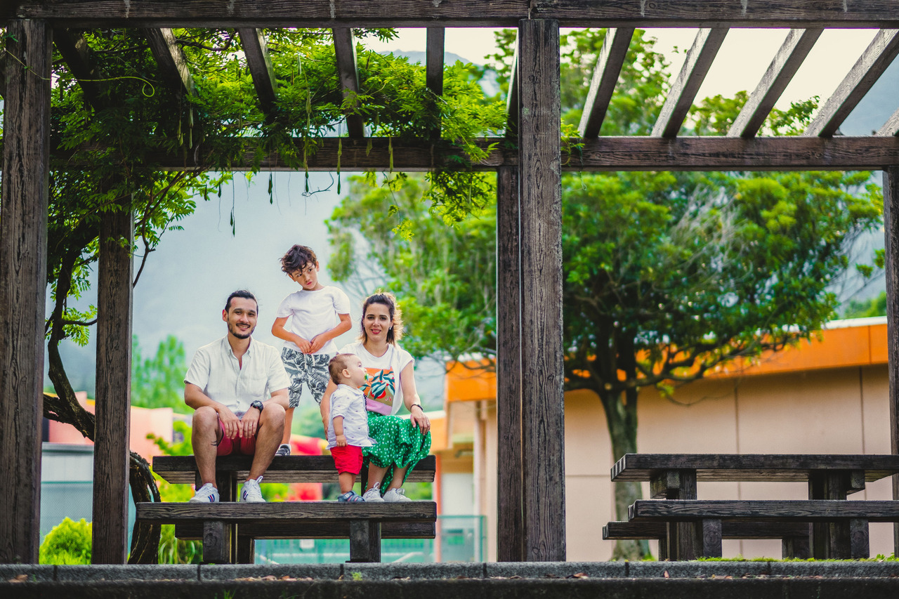 ensaio familiar no japao, ensaio em yoro, fotografo de familia no japao, ensaio diferente de familia no japao, fotografo no japao