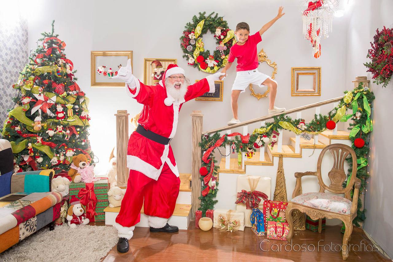 ensaio Papai Noel Natal estudio blumenau indaial timbó