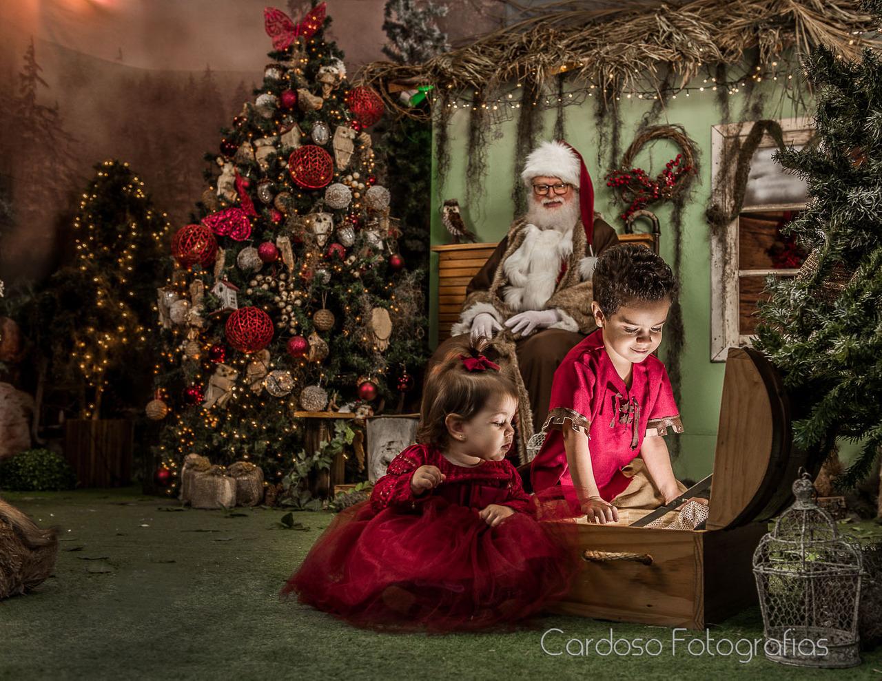 ensaio fotográfico natal em família estúdio fotográfico em Blumenau, Indaial, Timbó