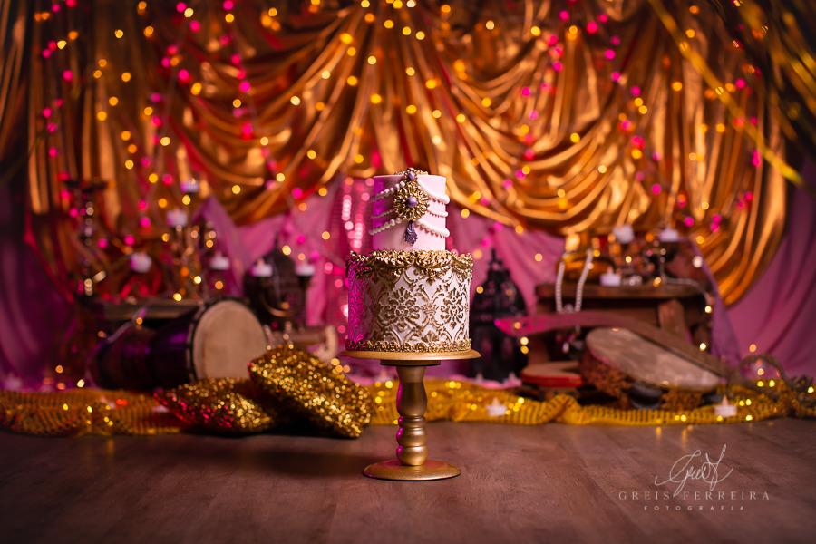 ensaio de bebê bolo smash the cake princesa arabe