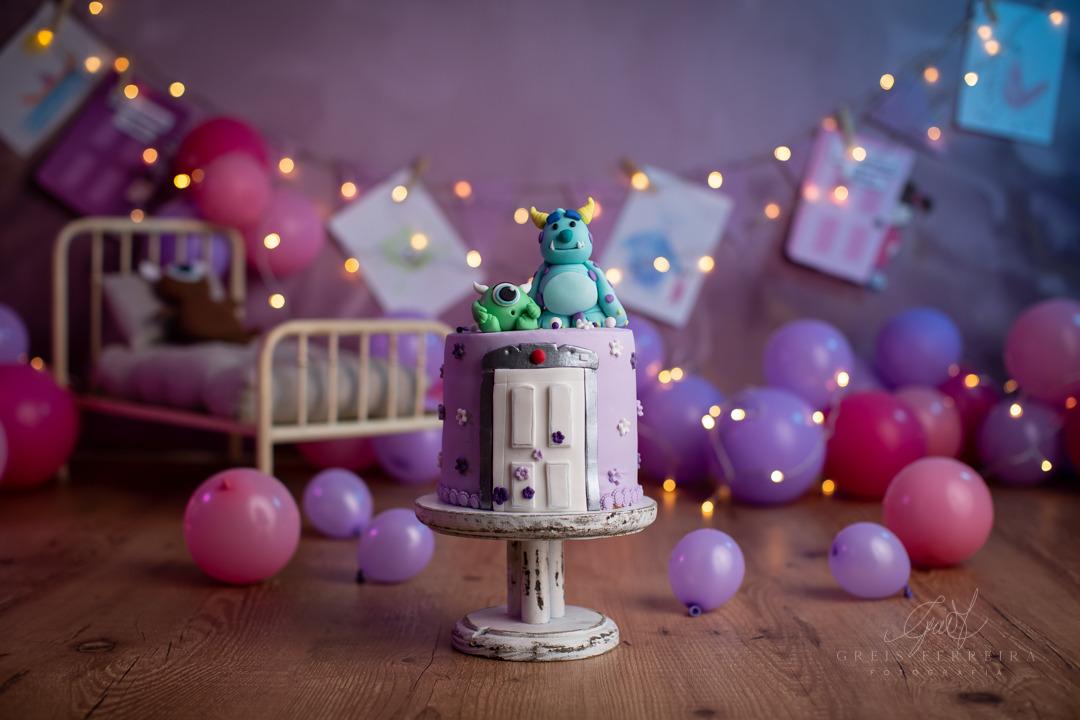 ensaio de bebê bolo smash the cake mostros sa s.a.