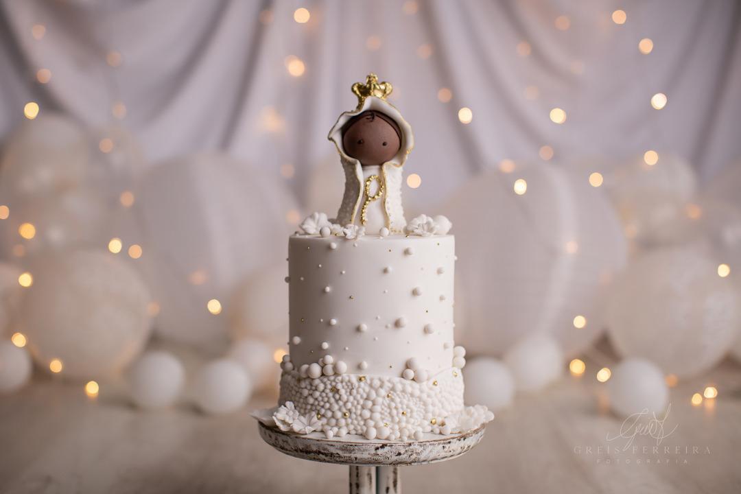 ensaio de bebê bolo smash the cake nossa senhora