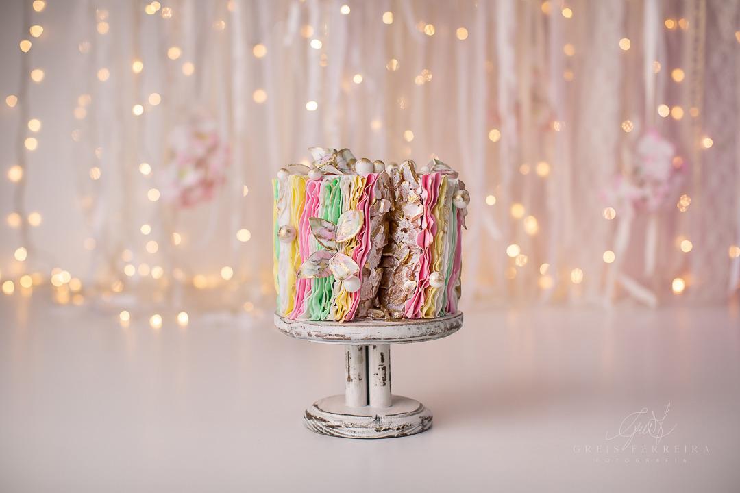 ensaio de bebê bolo smash the cake borboleta